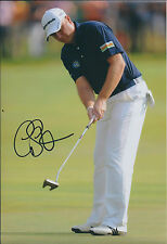 Graeme STORM SIGNED AUTOGRAPH 12x8 Photo AFTAL COA European Tour