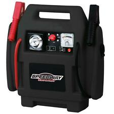 Emergency Power Car Jump Starter and Compressor with Rechargeable Battery