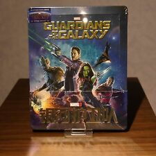 New Guardians of the Galaxy Steelbook Blu-ray 3D+2D Blufans 1/4 Slip