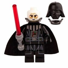 Darth Vader A New Hope minifigure With Lego Sticker movie Star Wars Sith ROTJ