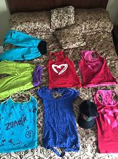 Zumba Wear Lot (8 Pcs)  Size S and M