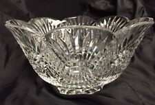 1994 Waterford Crystal Master Cutters Footed Centerpiece Bowl Michael O' Mahoney