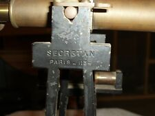 Pre-1930 Antique Transit Secretan 1134 Paris amazing condition with level Brass