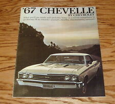 1967 Chevrolet Chevelle Sales Brochure 67 Chevy