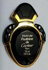 Magnifique FLACON de sac  @ PANTHERE @ de CARTIER parfum 7,5ml VIDE