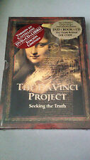 "DVD ""THE DA VINCI PROJECT"" DVD + CD + LIBRO COMO NUEVO VERSION CASTELLANO"