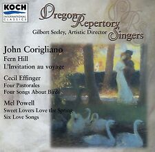 CORIGLIANO: FERN HILL - OREGON REPERTORY SINGERS - SEELEY / CD - NEUWERTIG