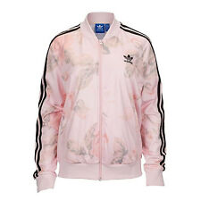 NEW ADIDAS PASTEL ROSE TRACK TOP JACKET AO2851 Sz L