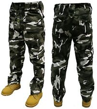 ARMY CARGO COMBAT TROUSERS URBAN CAMO 42'' FREE POSTAGE