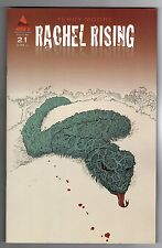 RACHEL RISING #21 - TERRY MOORE STORY, ART & COVER - ABSTRACT STUDIO - 2013