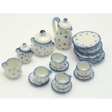 12th Scale Ceramic Tea Set for Dolls House   D9304