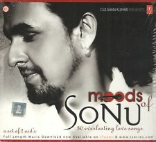 MOODS OF SONU - SONU NIGHAM - 2 CD BOLLYWOOD COMPILATION SET - FREE POST