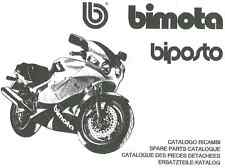CATALOGO RICAMBI BIMOTA YB10 BIPOSTO COPY SPARE PARTS CATALOGUE MULTILANGUAGES