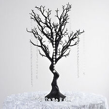 "30"" Black MANZANITA TREE with Garlands Wedding Party CENTERPIECES Decorations"