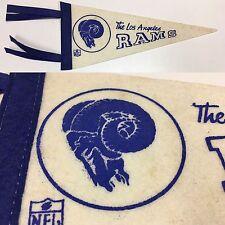 Vintage LA Los Angeles Rams California Nfl Football MINI Pennant 5x12