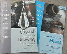 CRYSTAL Pendulum DOWSING book plus GEMSTONE & CRYSTAL ELIXIRS 2 Great Books