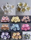 Miniature Mulberry Paper Cherry Blossom Flower 25mm Cards Crafts Embellishment