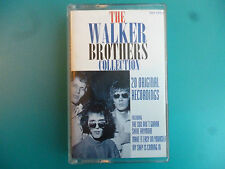 "THE WALKER BROTHERS  "" THE WALKER BROTHERS COLLECTION- 20 ORIGINALS ""  CASSETTE"