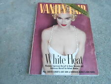 APRIL 1990 VANITY FAIR fashion magazine MADONNA