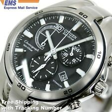 CITIZEN VO10-5992F Eco-Drive Solar Chronograph Titanium Men's Watch Japan F/S