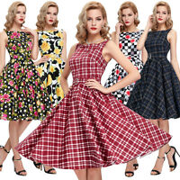 CHEAP Womens VINTAGE 40'S 50'S STYLE SWING Pin UP Evening Party Dress