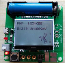 2015 newest big LCD inductor-capacitor ESR meter DIY MG328 multifunction test