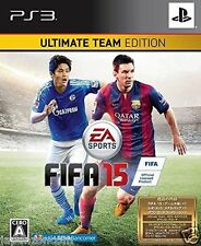 Used PS3 FIFA 15 ULTIMATE TEAM EDITION  SONY PLAYSTATION 3 JAPAN JAPANESE IMPORT