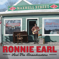 Maxwell Street - Ronnie & The Broadcasters Earl (2016, CD NIEUW)