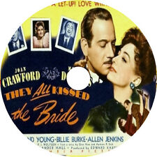 They All Kissed the Bride 1942 DVD Joan Crawford Melvyn Douglas Roland Young