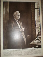 Photo article the late Professor Sir Alexander Fleming 1955 ref Z