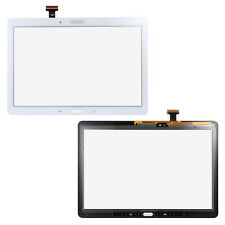 BIANCO LCD Touch Screen Digitizer Assembly PART per Samsung Nota 10.1 SM-P600