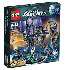LEGO Ultra Agents 70172: AntiMatter's Portal Hideout Set New In Box Sealed