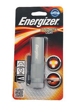 Energizer 3 LED Metal Bright Light Handy Pocket Sized Durable Impact Resistant