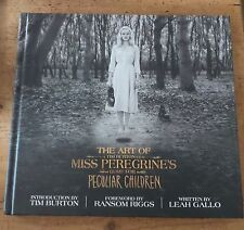 THE ART OF MISS PEREGRINE'S HOME FOR PECULIAR CHILDREN TIM BURTON FILM BOOK