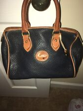 dooney bourke Navy Blue All Weather handbags