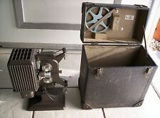 VINTAGE KODAK KODASCOPE EIGHT MODEL 70 8mm MOVIE PROJECTOR wCASE working light