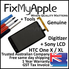 HTC One X XL OEM Glass Touch Screen Sony LCD Digitizer Assembly Replacement Tool
