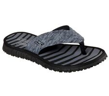Women's SKECHERS Go Flex-Vitality Sandal / Flip-Flops, Color Black-Gray, Size 8