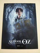 SM TOWN COEX ARTIUM Official GOODS - SCHOOL OZ GOODS  Post card - Shinee Key