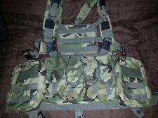 chest rig overt body armor carrier plate carrier mag pouches  L - XL