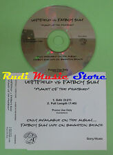CD Singolo LEFTFIELD VS FATBOY SLIM PLANET OF THE PHATBIRD PROMO PHATBIRDCD(S16)