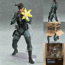 Metal Gear Solid 2 Sons of liberty SOLID SNAKE Action FIGURE FIGURINE MGS2 VER.