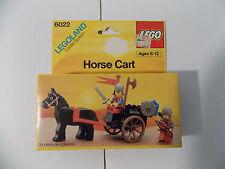 New 1985 LEGO Set 6022 Horse Cart Legoland Castle System Factory Sealed