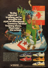 1070s vintage AD,  CONVERSE TENNIS SHOES  All Star Canadian Flag 103014