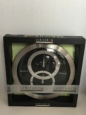 Verichron Quartz World Time Clock New In box