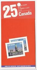 Canada 1988 1989 Parliament Booklet of 25 x 38c MNH $9.50 Lunch saver