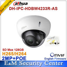Dahua IPC-HDBW4233R-AS 2MP IR Mini Dome Network IP Camera IR POE Audio SD card