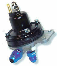 FSE ADJUSTABLE FUEL PRESSURE REGULATOR 8mm TAILS AIR007