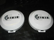 a pair o rare  mini  cibie covers  140mm