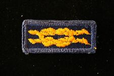 DEN LEADER TRAINING AWARD KNOT PATCH (Blue Gold) - CUB SCOUT - BSA Bear Wolf
